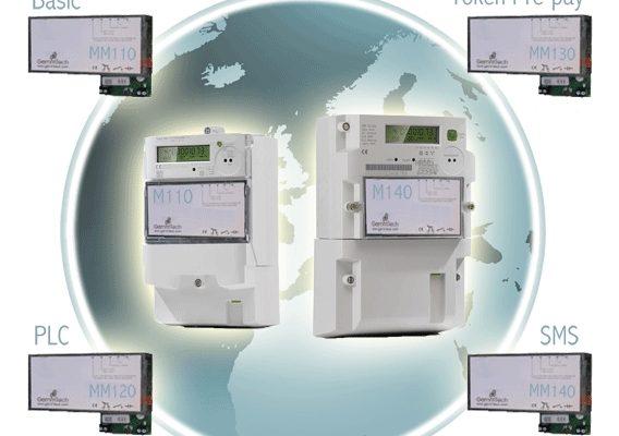 RFID card electricity meter